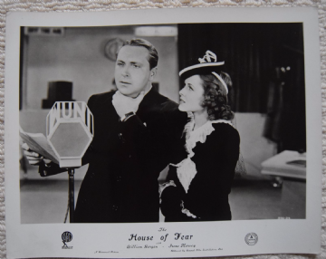 House of Fear, Universal FOH Still, William Gargan, Irene Hervey, '39 (k)